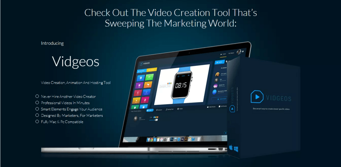 2016 02 19 1026 - VIDGEOS - HIGH END VIDEO CREATION TOOL REVIEW