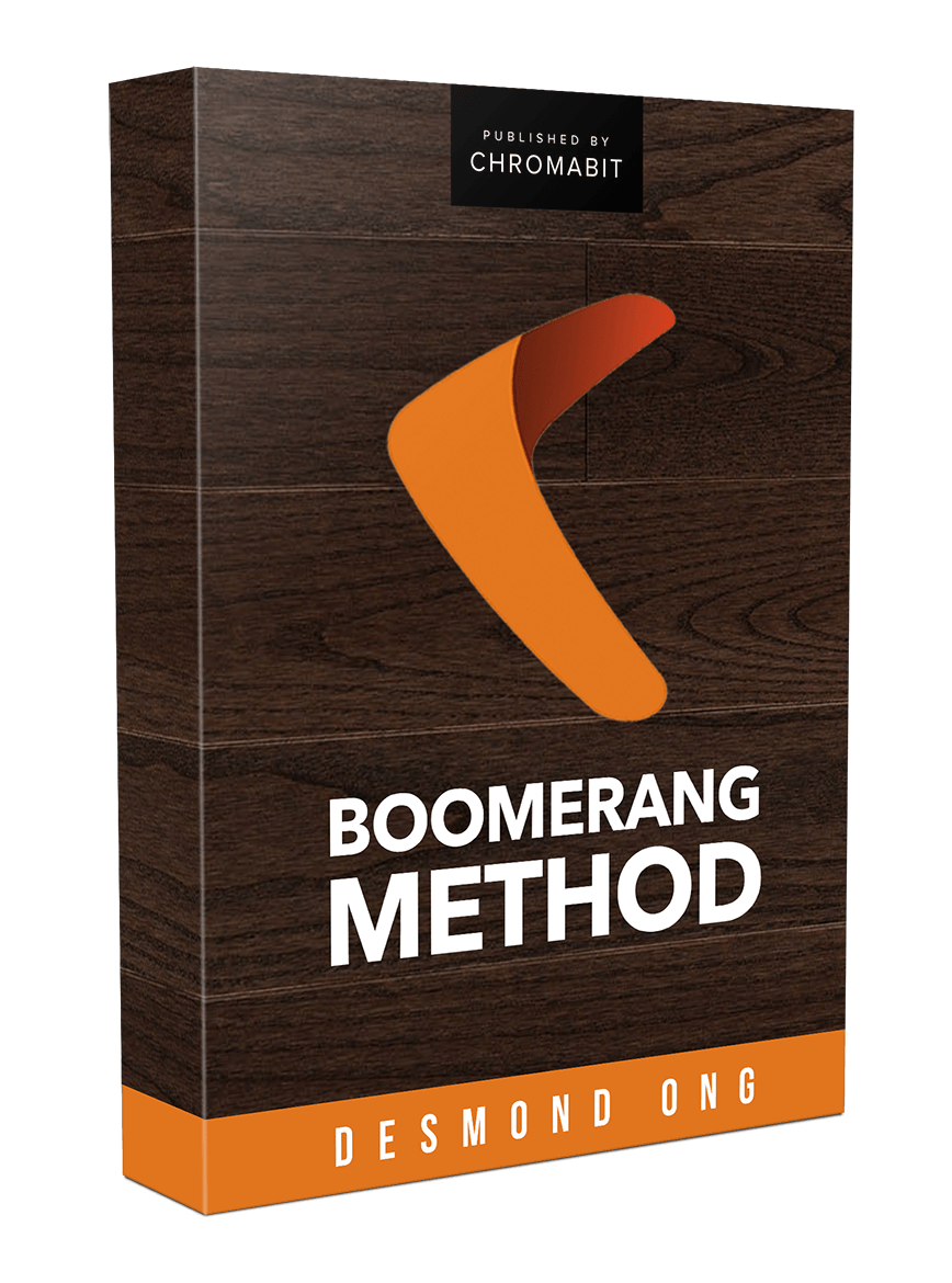 o 9807 prod image - THE UPDATED BOOMERANG METHOD PAID TRAFFIC COURSE REVIEW