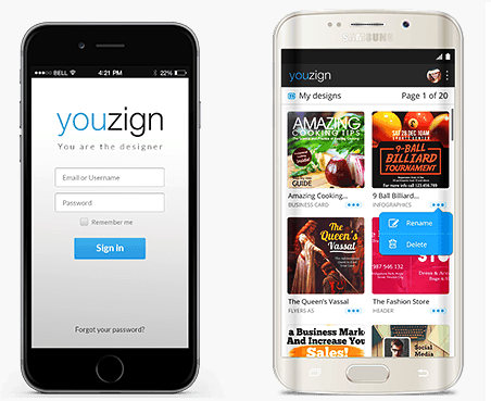 youzign mobile - YouZign 2.0 Review