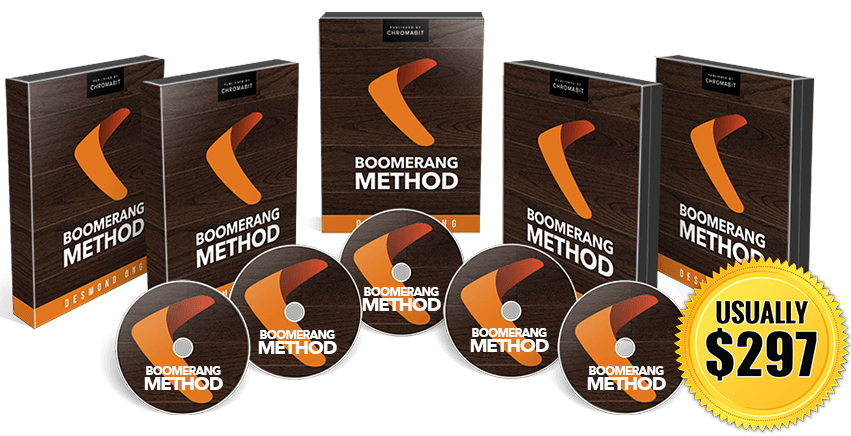 bm ribbon - THE UPDATED BOOMERANG METHOD PAID TRAFFIC COURSE REVIEW