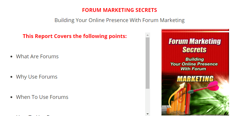 2016 03 24 1559 - FREE TRAFFIC SOURCES SERIES PART SIX – FORUM AUTHORITY