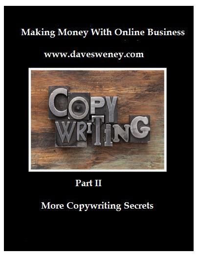Cover Copywriting Secrets Part II - LET'S WRITE ABOUT COPYWRITING – PART 3 OF 3
