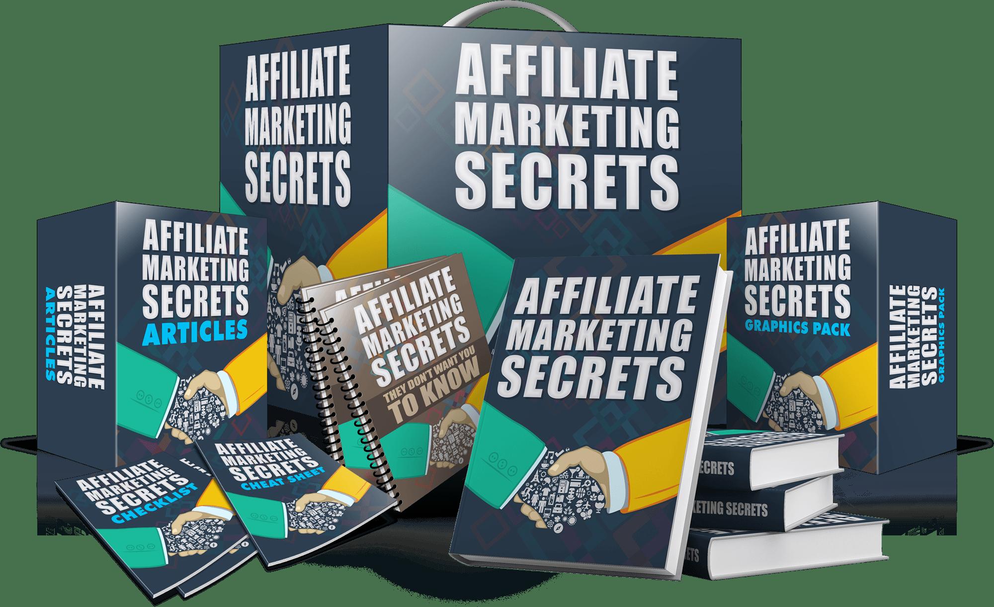 AMS 3DBoxSet - Powerful Affiliate Marketing Secrets I Wish I Knew Then...