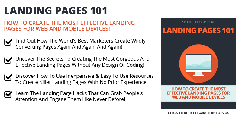 Book Cover Landing Pages 101