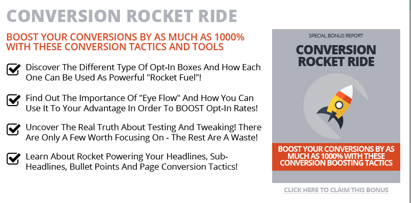 Book Covr Conversion Rocket Ride