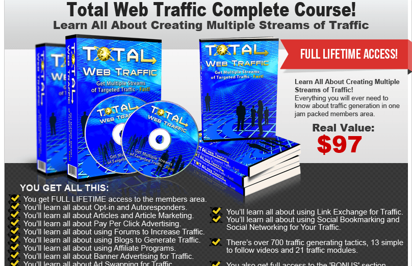 Course on Getting Web Traffic