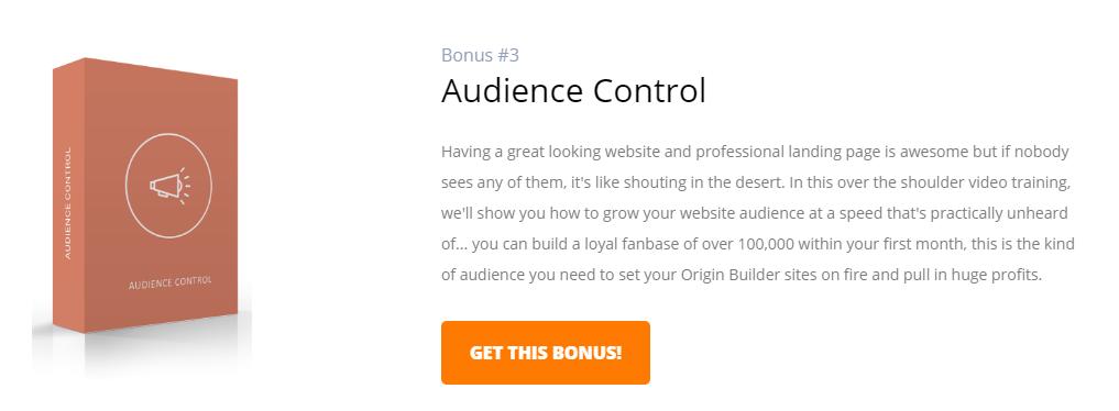 Bonus 3 for Origin Builder Software