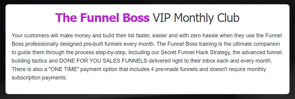 2016 07 23 1213 - Review Of Funnel Boss - Complete Lead and Sales System