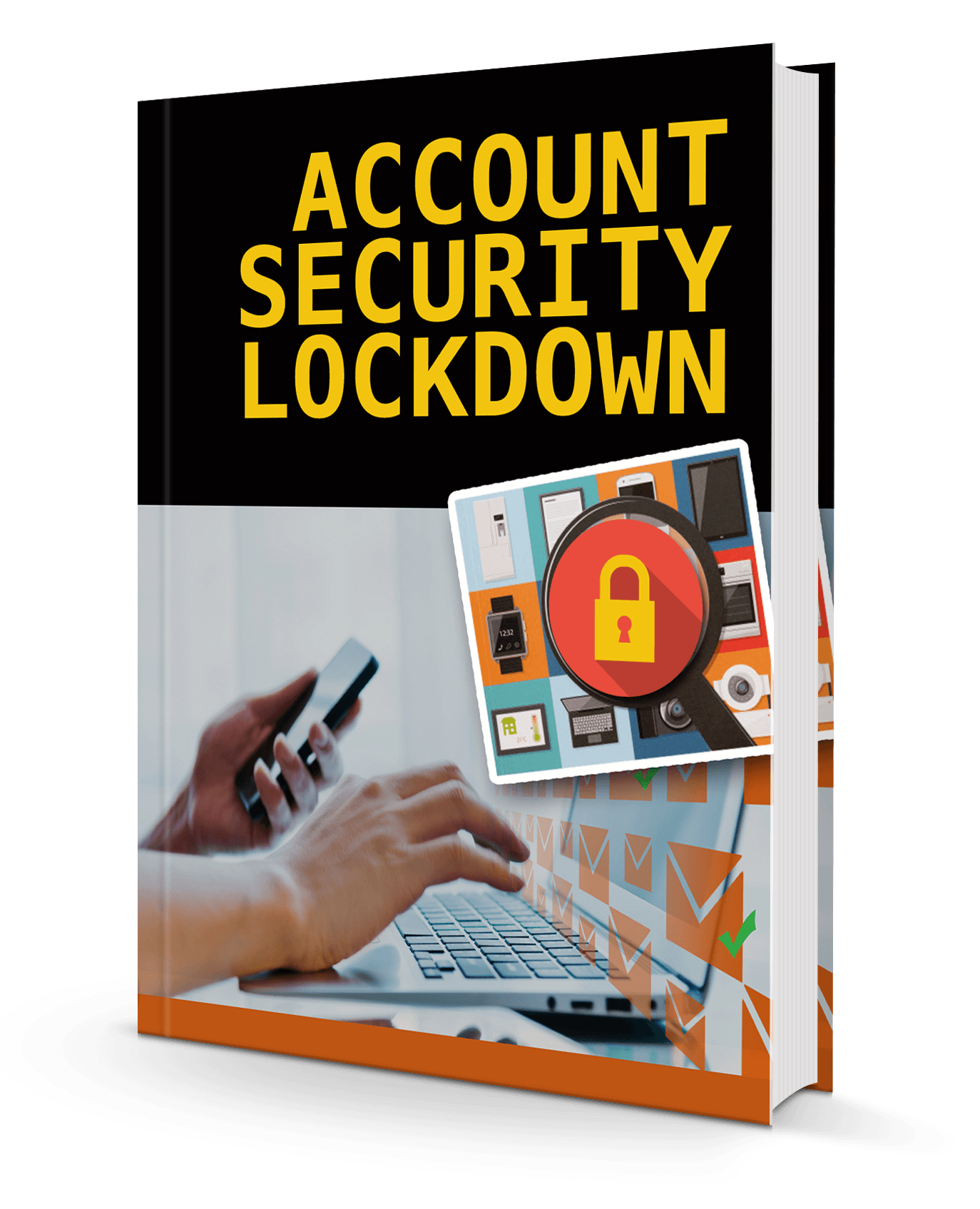 book mock - How To Quickly Protect Your Email Account - Security