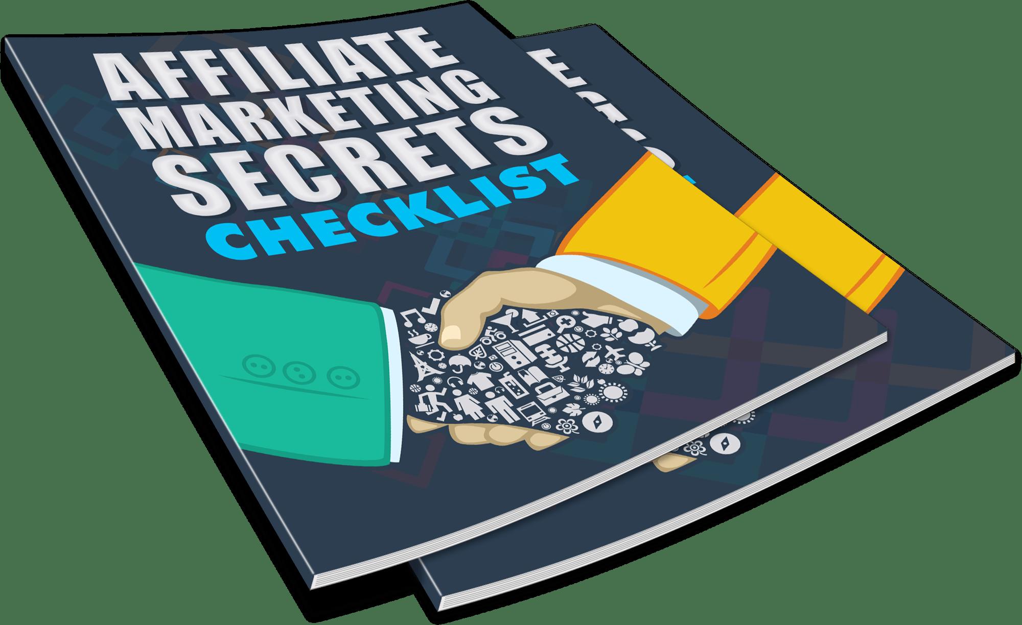 AMS M7 ChecklistMagazine 1 - Powerful Affiliate Marketing Secrets I Wish I Knew Then...