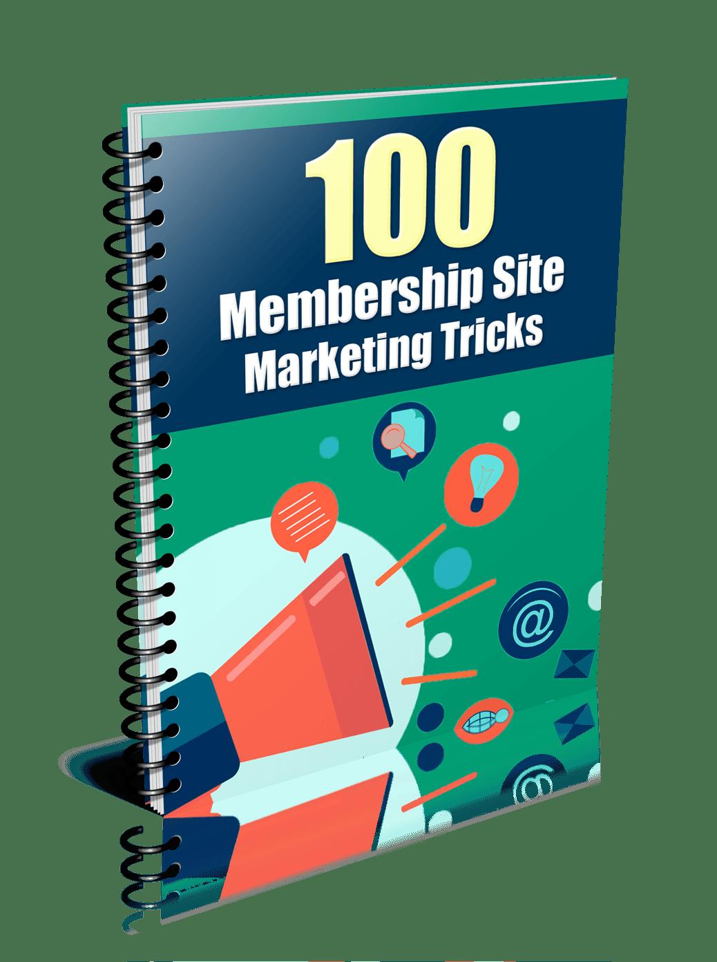 spiral report 100MembershipSiteMarketingTricks - How To Make Quick Money Online - Niche Membership Sites