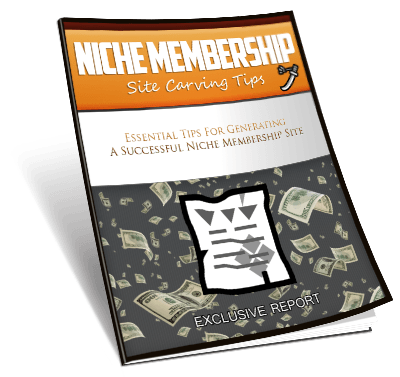 Small 400x377 - How To Make Quick Money Online - Niche Membership Sites