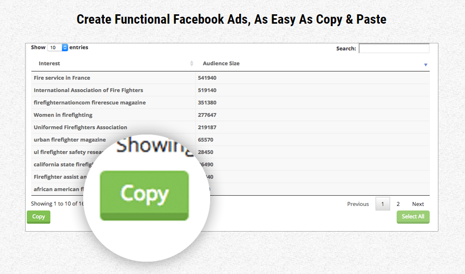 2016 08 09 1118 - Review of the 'Audience Drill' Effective Ads Tool