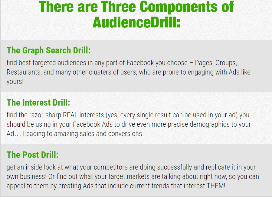 2016 08 09 1109 - Review of the 'Audience Drill' Effective Ads Tool