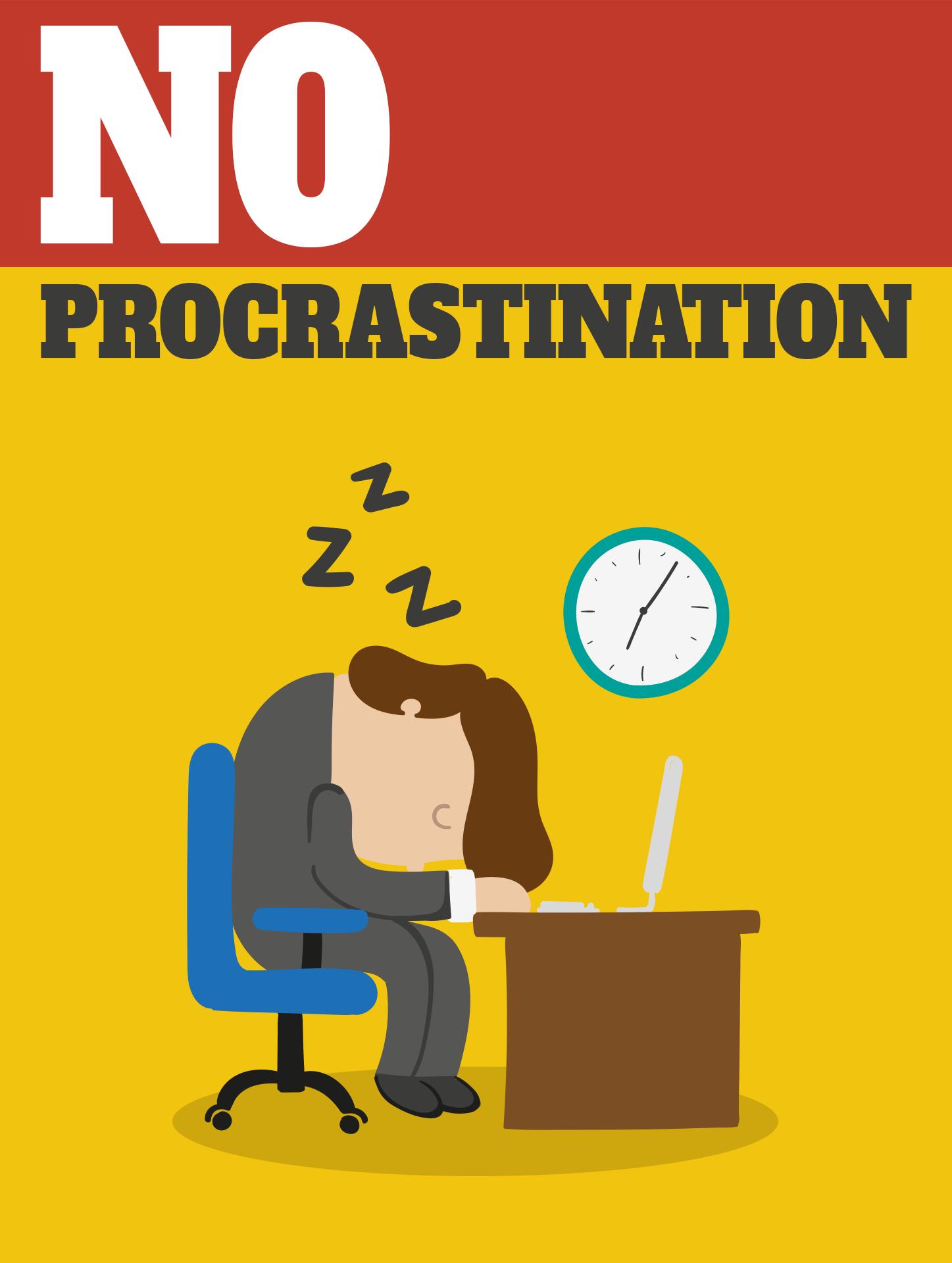 No Procrastination - The Lighter Side - Day Seven - Procrastination