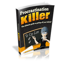 Procrastination killer 200 - The Lighter Side - Day Seven - Procrastination