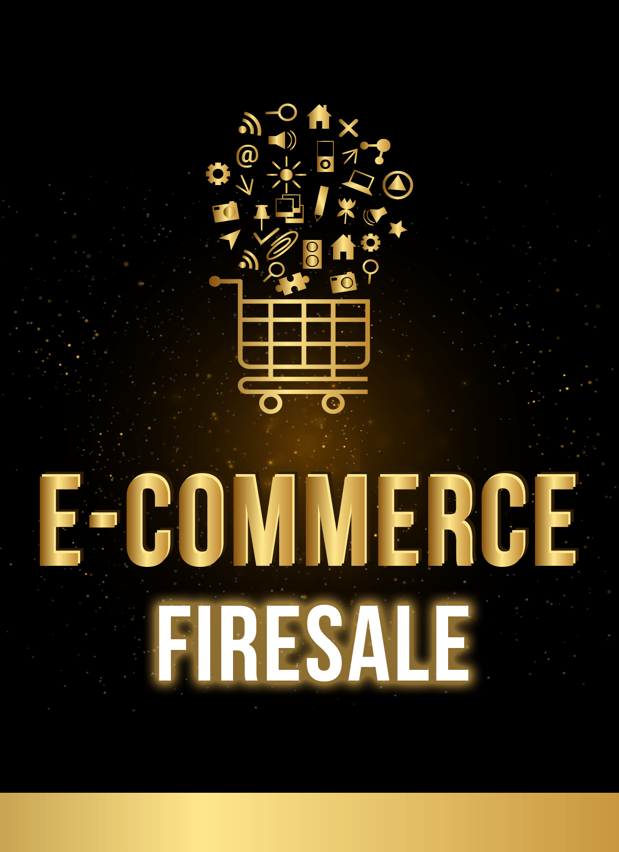 """ECF cover large - Review of Complete E-Commerce Training Course - """"e-Commerce Firesale"""""""