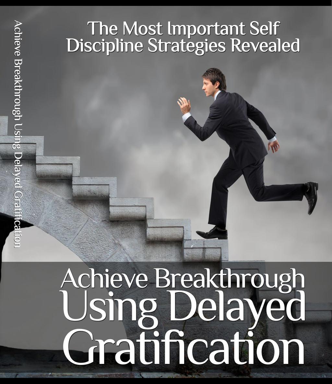 Image of book on delayed gratifcation