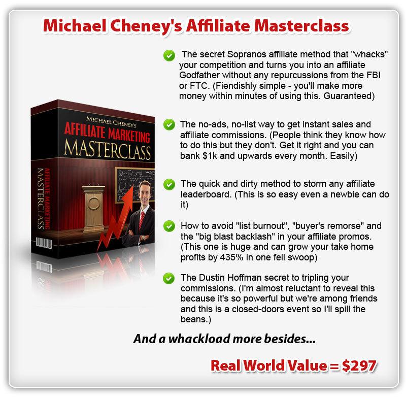 """bonus3 - Review of Michael Cheney's """"Commission Cartel"""" Training Bundle"""