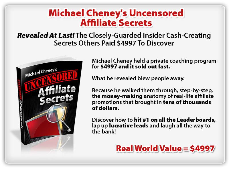 """bonus8 - Review of Michael Cheney's """"Commission Cartel"""" Training Bundle"""