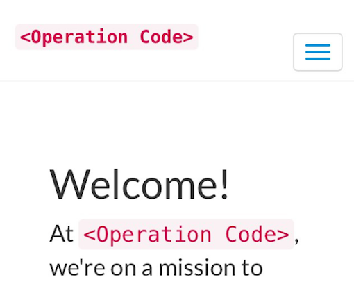 Operation Code first beta launch