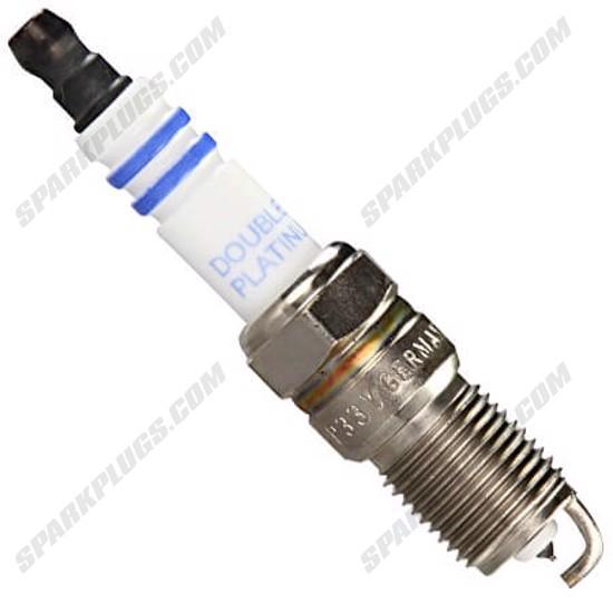 Picture of Bosch 8102 HR9DPP33Y 0242225677 Double Platinum Spark Plug