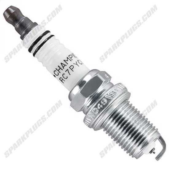 Picture of Champion 3340-2 RC7PYCB4 Platinum Spark Plug - 2 Pack