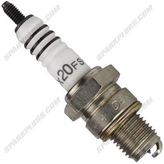 Picture of Denso 4104 X24FSZ-U Platinum U-Groove Spark Plug