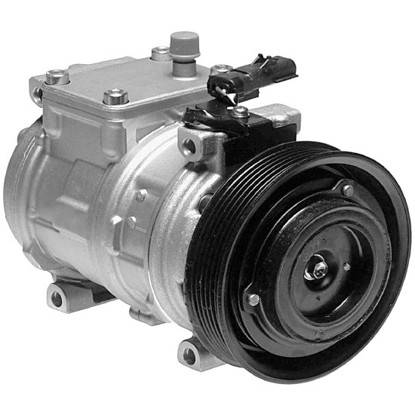 Picture of Denso 471-0100 New A/C Compressor with Clutch