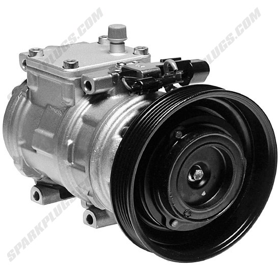 Picture of Denso 471-0102 New A/C Compressor with Clutch