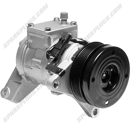 Picture of Denso 471-0103 New A/C Compressor with Clutch