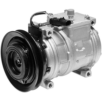 Picture of Denso 471-0107 New A/C Compressor with Clutch