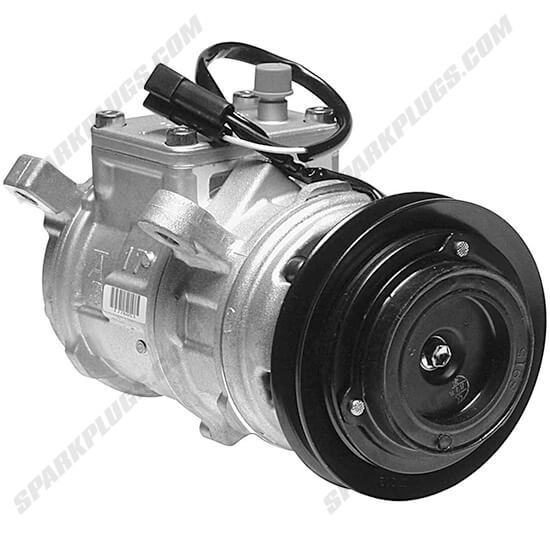 Picture of Denso 471-0111 New A/C Compressor with Clutch