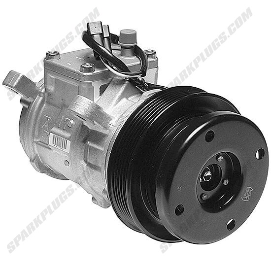 Picture of Denso 471-0112 New A/C Compressor with Clutch