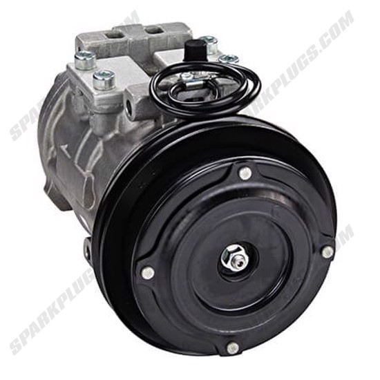 Picture of Denso 471-0124 Remanufactured A/C Compressor with Clutch
