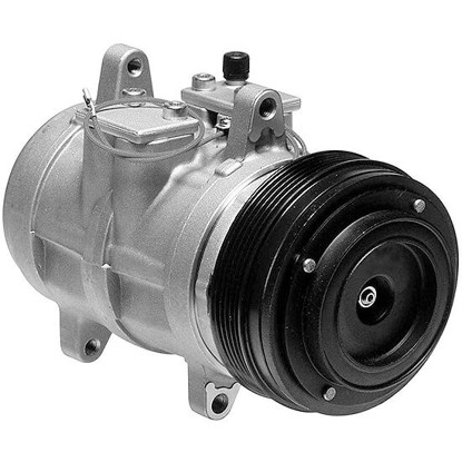 Picture of Denso 471-0126 Remanufactured A/C Compressor with Clutch
