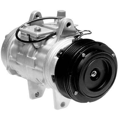 Picture of Denso 471-0127 Remanufactured A/C Compressor with Clutch