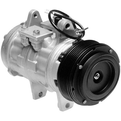 Picture of Denso 471-0128 Remanufactured A/C Compressor with Clutch