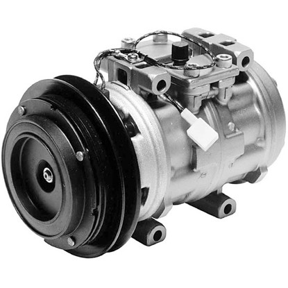 Picture of Denso 471-0132 Remanufactured A/C Compressor with Clutch