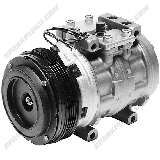 Picture of Denso 471-0136 Remanufactured A/C Compressor with Clutch