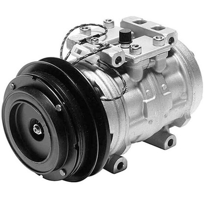 Picture of Denso 471-0137 Remanufactured A/C Compressor with Clutch