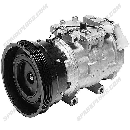 Picture of Denso 471-0154 Remanufactured A/C Compressor with Clutch