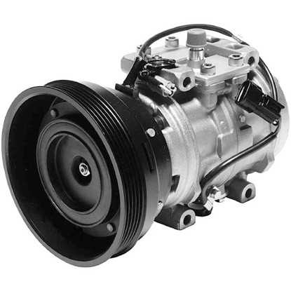 Picture of Denso 471-0161 Remanufactured A/C Compressor with Clutch