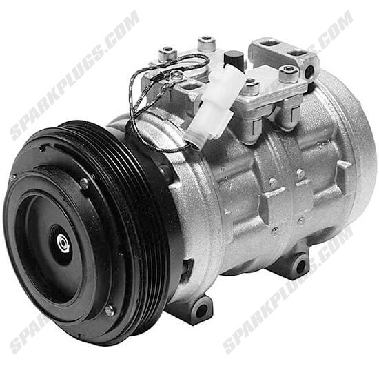 Picture of Denso 471-0180 Remanufactured A/C Compressor with Clutch