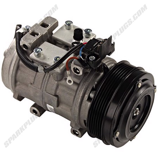 Picture of Denso 471-0232 Remanufactured A/C Compressor with Clutch