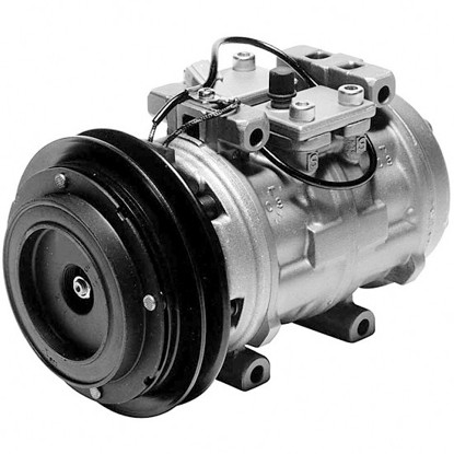 Picture of Denso 471-0251 Remanufactured A/C Compressor with Clutch