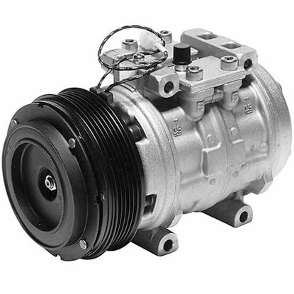 Picture of Denso 471-0253 Remanufactured A/C Compressor with Clutch