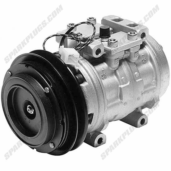 Picture of Denso 471-0254 Remanufactured A/C Compressor with Clutch