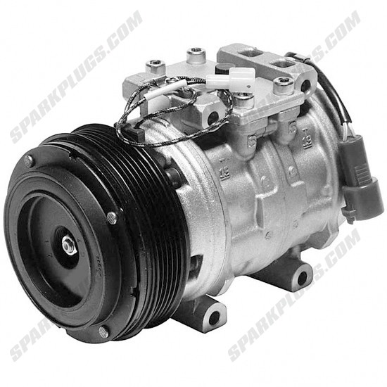 Picture of Denso 471-0255 Remanufactured A/C Compressor with Clutch