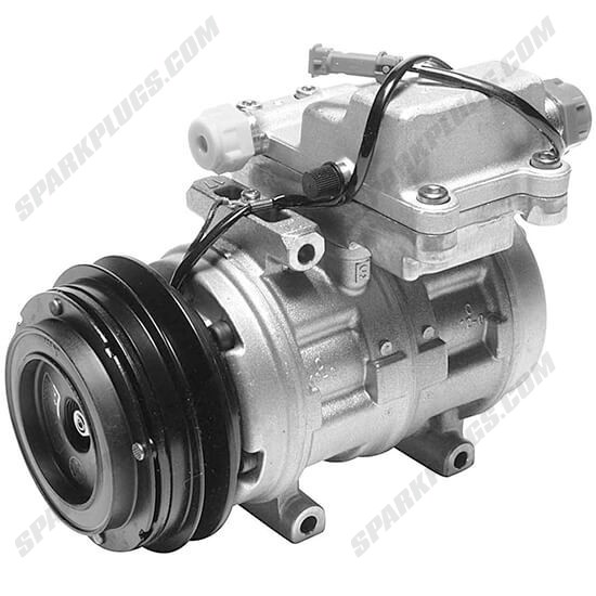 Picture of Denso 471-0259 Remanufactured A/C Compressor with Clutch